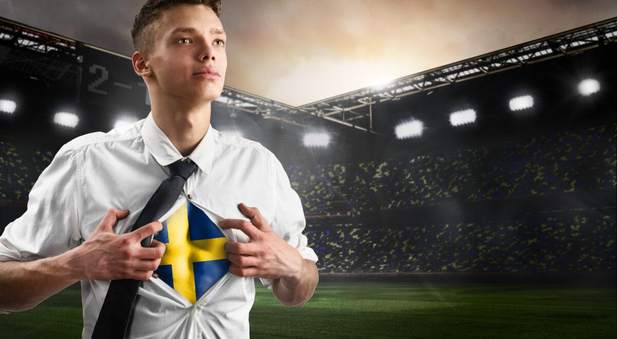 Svensk fotbollssupporter