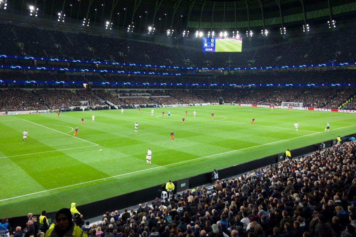 Tottenham Hotspur Stadium i London